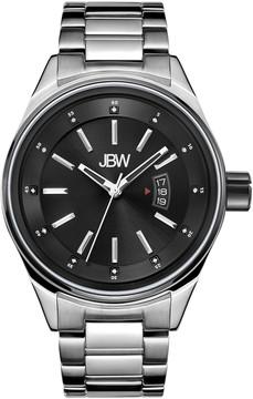 JBW Rook Black Dial Stainless Steel Men's Watch