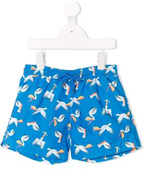 Trunks Sunuva pelican print swim shorts