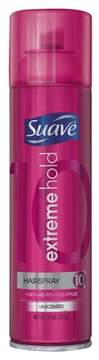 Suave Berry Extreme Hold Unscented Aero Hairspray - 11oz