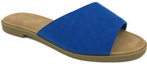 Bamboo Blue Hippie Slide - Women