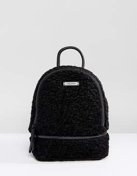 ALDO Anancoedo Faux Shearling Mini Backpack