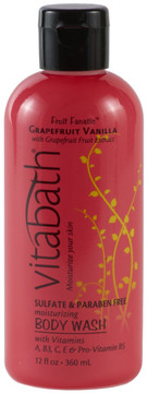 Vitabath Grapefruit Vanilla Body Wash