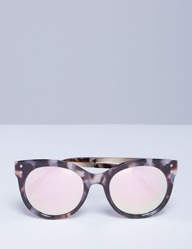 Lane Bryant Marbled Sunglasses with Metal Arms