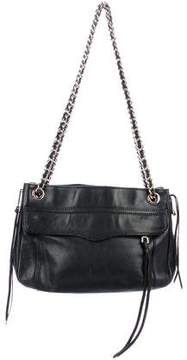 Rebecca Minkoff Leather Swing Bag - BLACK - STYLE