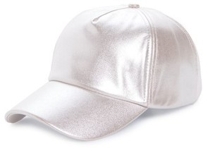 BP Women's Brushed Metallic Baseball Cap - Pink