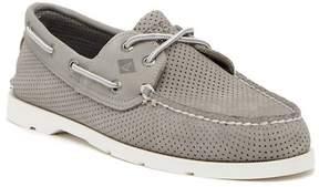 Sperry Leeward 2-Eye Perforated Boat Shoe