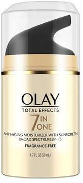 Olay Total Effects 7-in-1 Anti-Aging Face Moisturizer with SPF 15 Fragrance-Free
