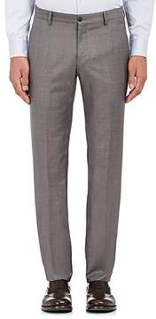 Giorgio Armani Men's Wool-Cashmere Hopsack Trousers