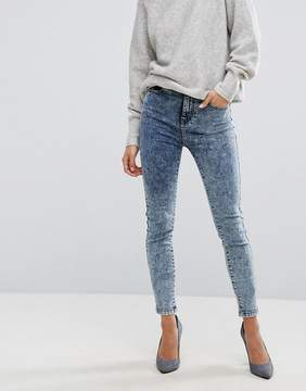 Dr. Denim Zoe High Rise Skinny Jean in Acidwash