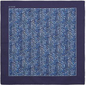 Eton Fish Scales Pocket Square