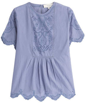 Vanessa Bruno Cotton Top with Embroidery