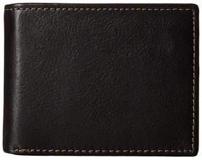 Johnston & Murphy Flip Billfold Wallet Bi-fold Wallet