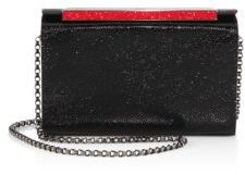 Christian Louboutin Vanite Small Leather Convertible Clutch