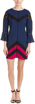 Adelyn Rae Bell-Sleeve Shift Dress