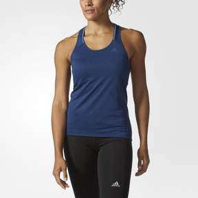 adidas Women's Running Supernova Tank Top (Large) (Mystery Blue, X-Small)
