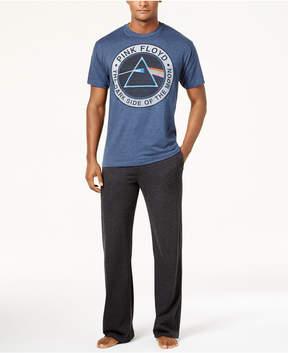 Bioworld Men's Pink Floyd Pajama Set