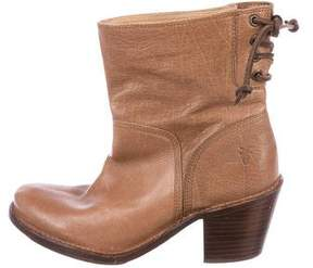 Frye Leather Ankle Boots