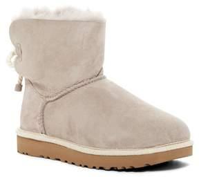 UGG Selene Genuine Lamb Fur Lined Boot