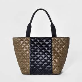 Mossimo Supply Co. Women's Large Quilted Nylon Tote Handbag - Mossimo Supply Co.