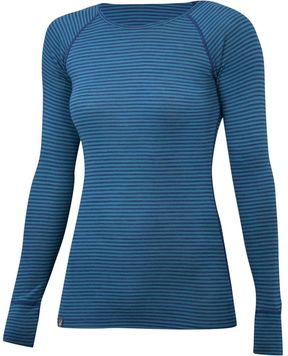 Ibex Woolies 1 Long-Sleeve Striped Crew Shirt