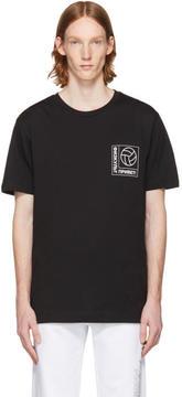 Gosha Rubchinskiy Black Football Logo T-Shirt