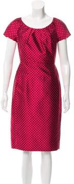Christian Dior Silk Sheath Dress