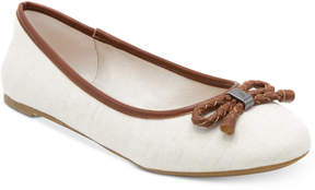 Nautica Giande Bow Ballet Flats Women's Shoes