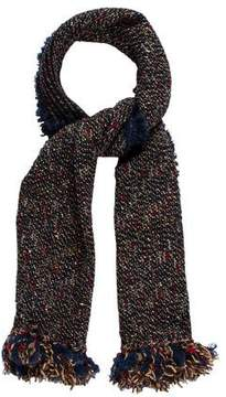 Chanel Tweed Wool & Mohair Scarf