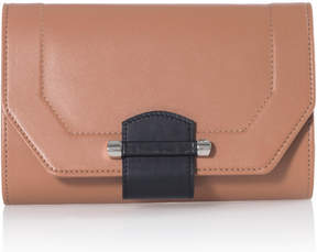 Joanna Maxham Enigma Tan Mini Clutch