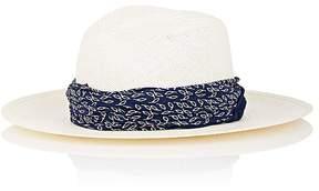 Janessa Leone Women's Marine Panama Hat