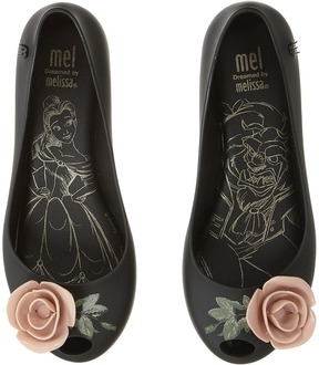 Mini Melissa Mel Ultragirl Beauty and The Beast Girl's Shoes