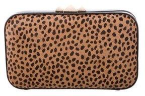 Rebecca Minkoff Leopard Print Ponyhair Clutch - ANIMAL PRINT - STYLE