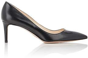 Prada Women's Leather Pointed-Toe Pumps