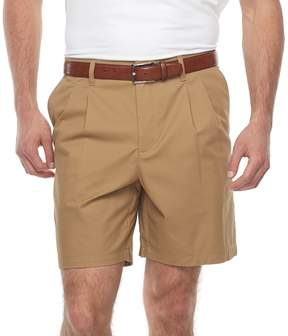 Croft & Barrow Big & Tall Regular-Fit Easy-Care Stretch Pleated Shorts