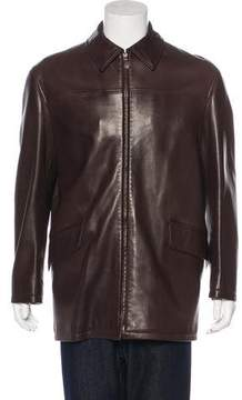 Hermes Lambskin Car Coat