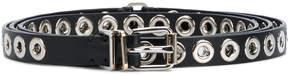Ermanno Scervino grommet-embellished skinny belt