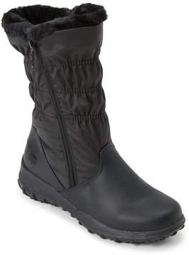 totes Black Ruby Waterproof Snow Boots