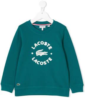 Lacoste Kids logo sweatshirt