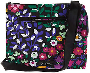 Vera Bradley Lighten Up RFID Triple CompartmentCrossbody Bag