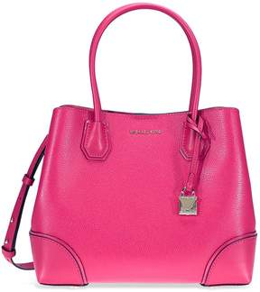 Michael Kors Mercer Medium Leather Satchel - Ultra Pink - ONE COLOR - STYLE