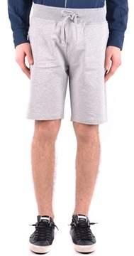 Aeronautica Militare Men's Grey Cotton Shorts.