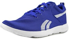 Reebok Royal Simple Youth Round Toe Synthetic Blue Sneakers.
