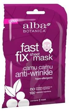 Alba Fast Fix Anti-Wrinkle Sheet Mask - Camu Camu - 1ct