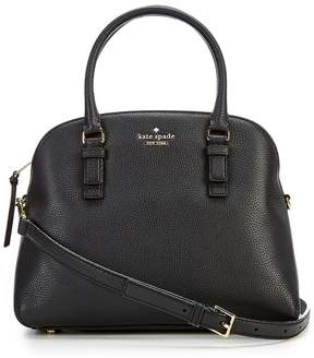 Kate Spade Jackson Street Lottie Satchel - BLACK - STYLE