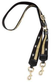 Marc Jacobs Stars and Stripes Webbed Shoulder Strap - LAVA RED - STYLE