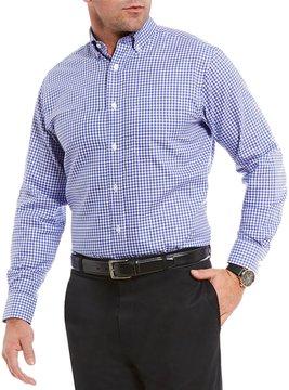 Daniel Cremieux Signature Non-Iron Royal Oxford Gingham Long-Sleeve Woven Shirt