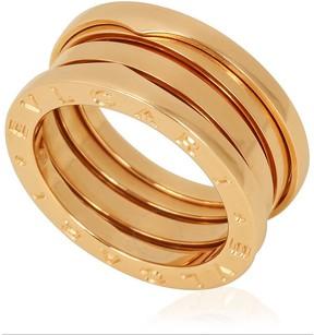 Bvlgari B.Zero1 18K Rose Gold 3-Band Ring Size