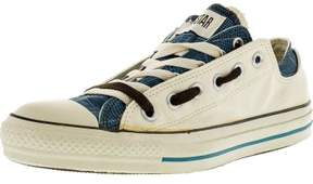 Converse Chuck Taylor Double Upper Oxford Parchment Plaid Canvas Fashion Sneaker - 8M / 6M