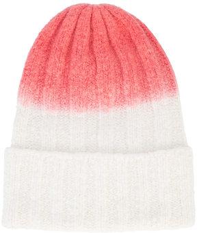 The Elder Statesman colour fade beanie hat