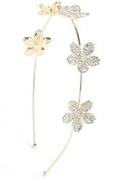 Cara Crystal Embellished Flower Headband
